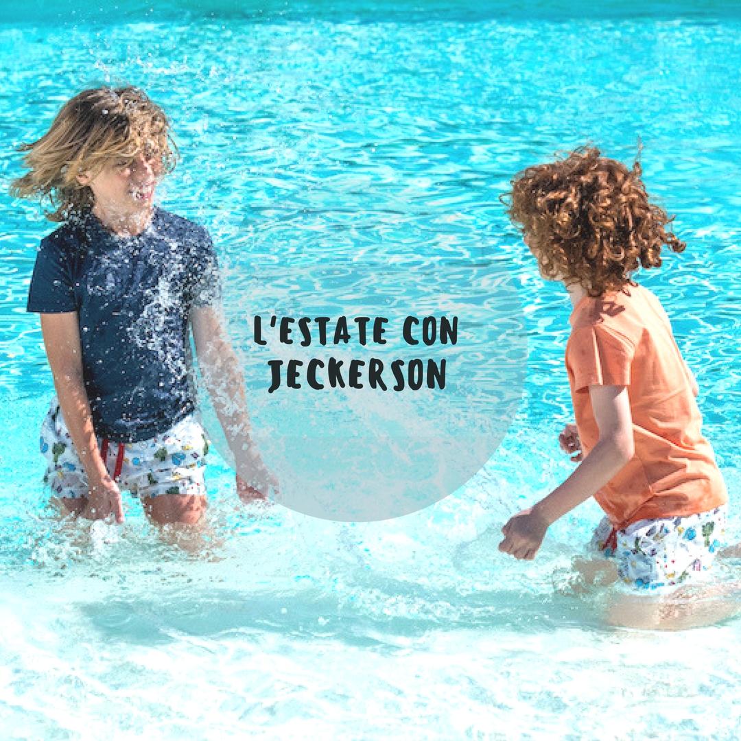 Foto Divertenti Bambini Al Mare costumi da mare per bambini: trendy al mare con jeckerson