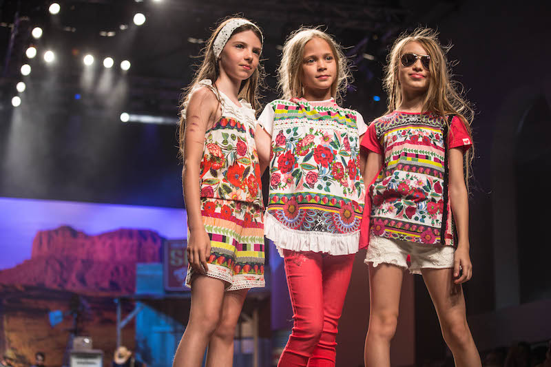 la moda bambini spagnola e le sfilate desigual
