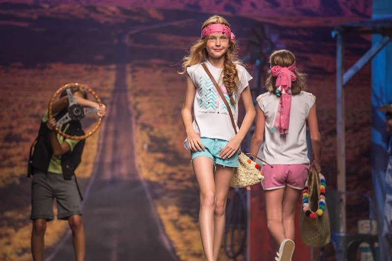 la moda bambini spagnola e le sfilate Tuc Tuc