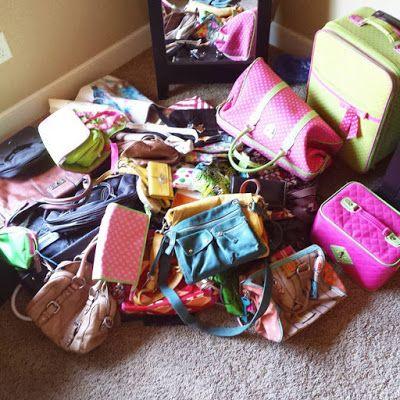 Come pulire borse e zaini konmari