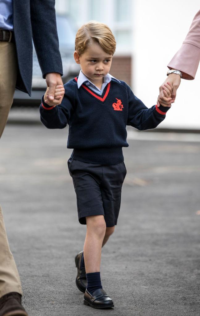 Le scarpe per il rientro a scuola George mocassini