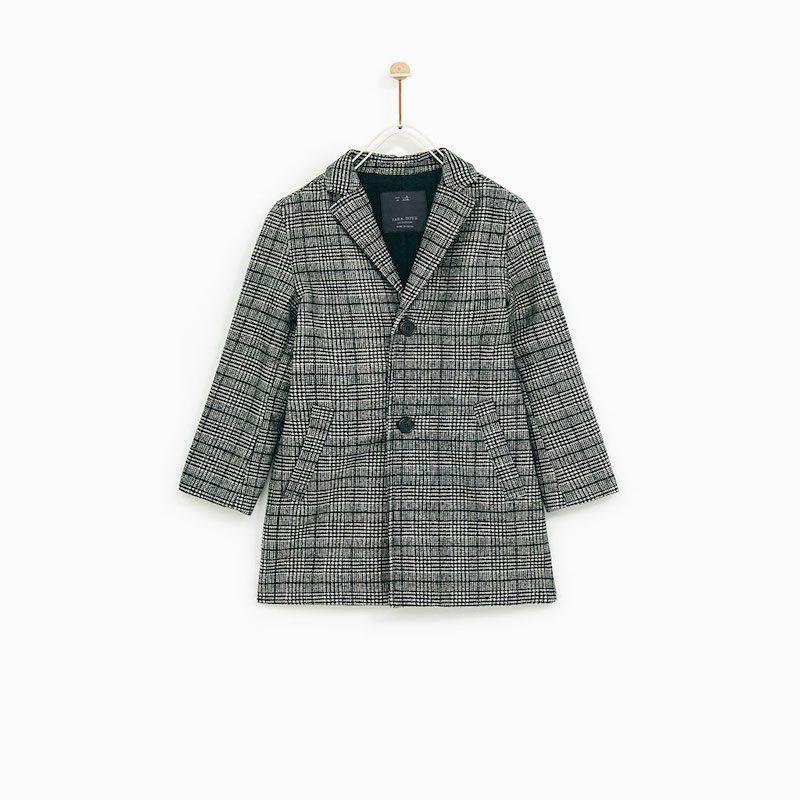 ... bambini e dell inverno. Zara Capsule. Cappotto grigio di Zara kids. 629703285c1