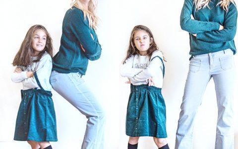 moda mamma e figlia