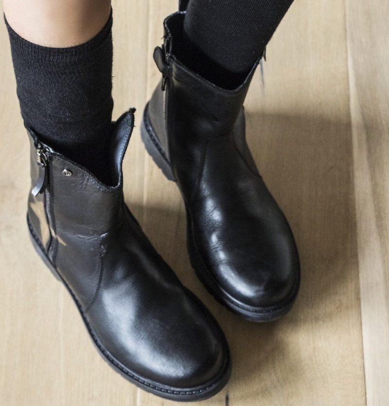stivali pelle bambini