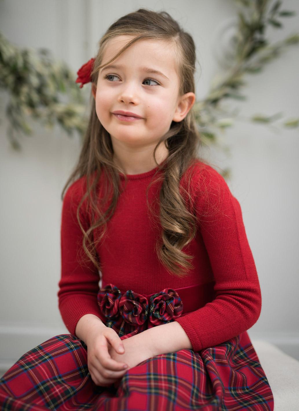 Abiti bambina per Natale con CAF e il suo mondo alla moda e644f563860