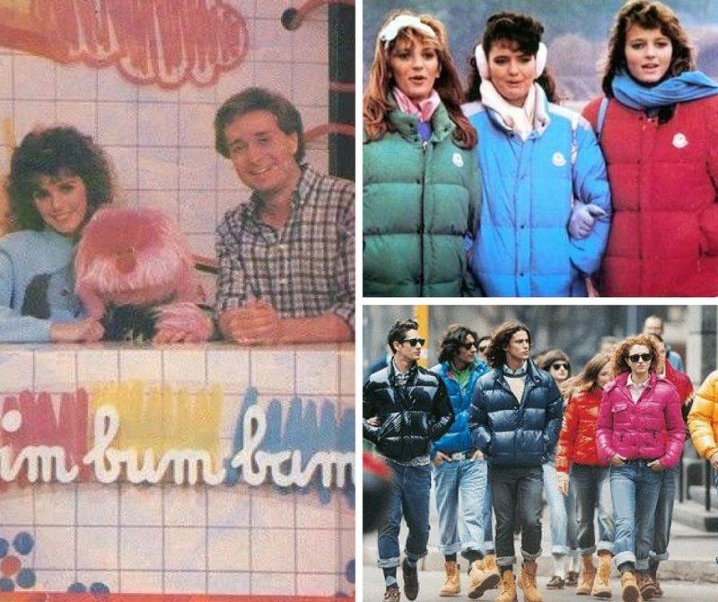 Piumini e ricordi anni 80