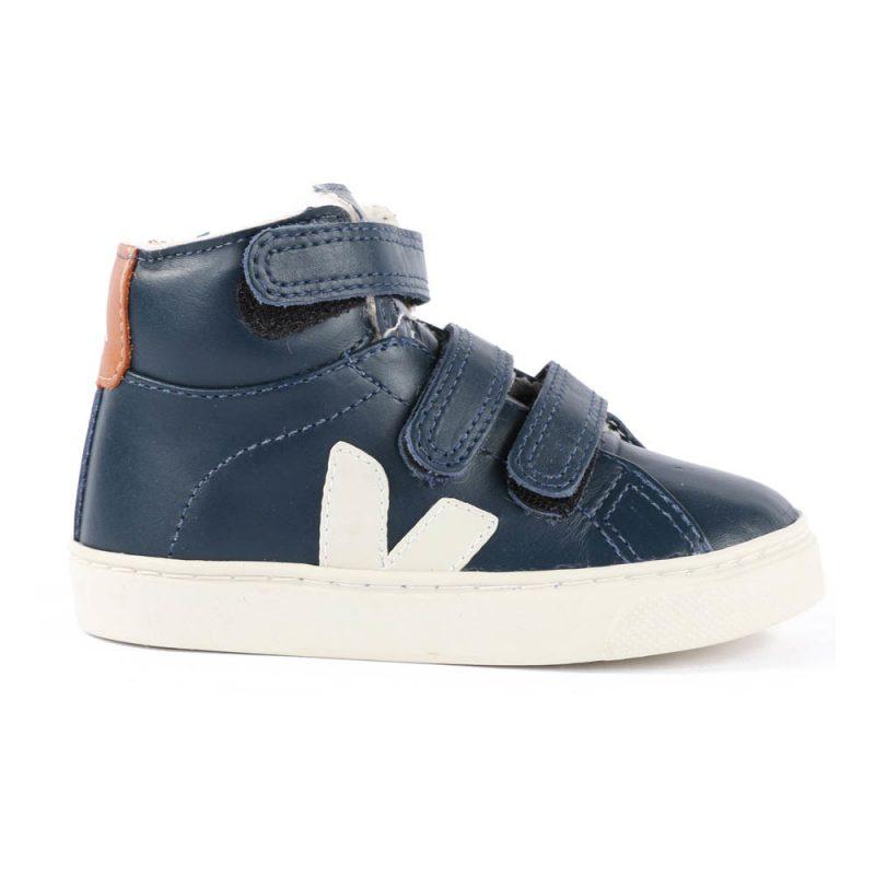 scarpe per bambini sneaker alte strappi