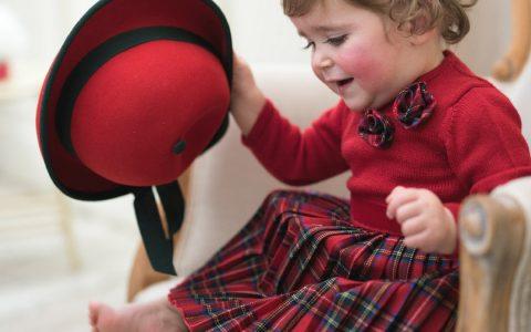 abiti bambina per Natale