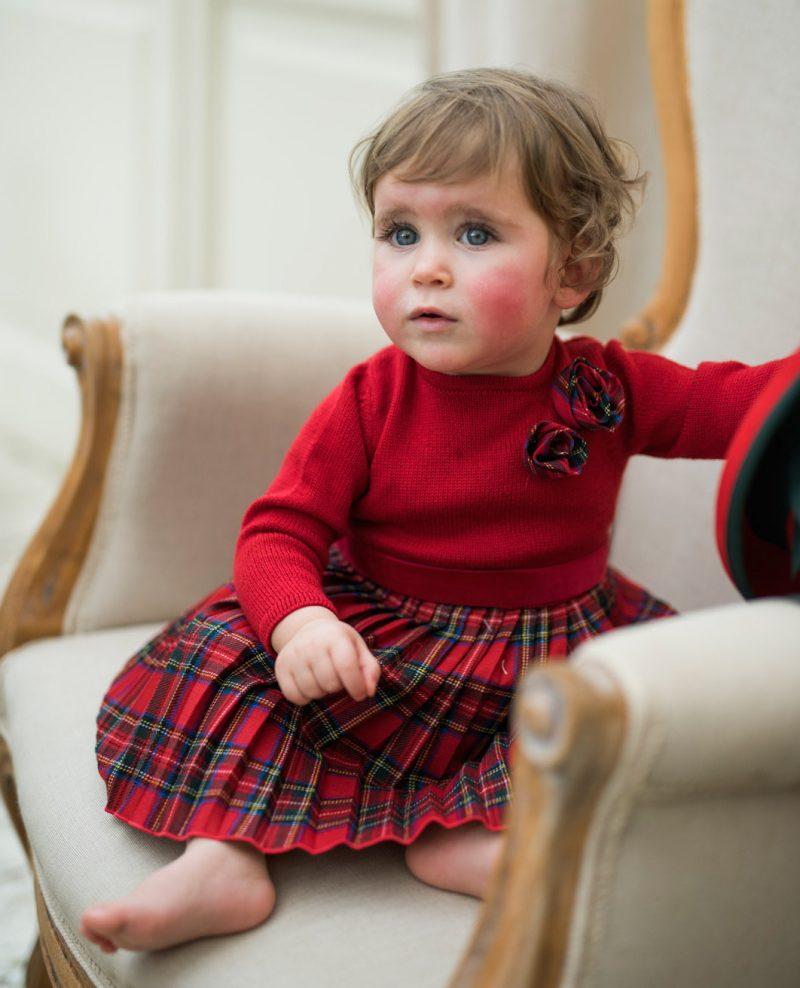 Abiti bambina per Natale con CAF e il suo mondo alla moda 9f70adfdbcc