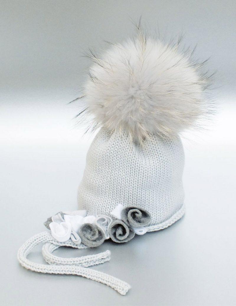 Cappelli di lana per bambini con pompon e la moda di Catya cd349292d905