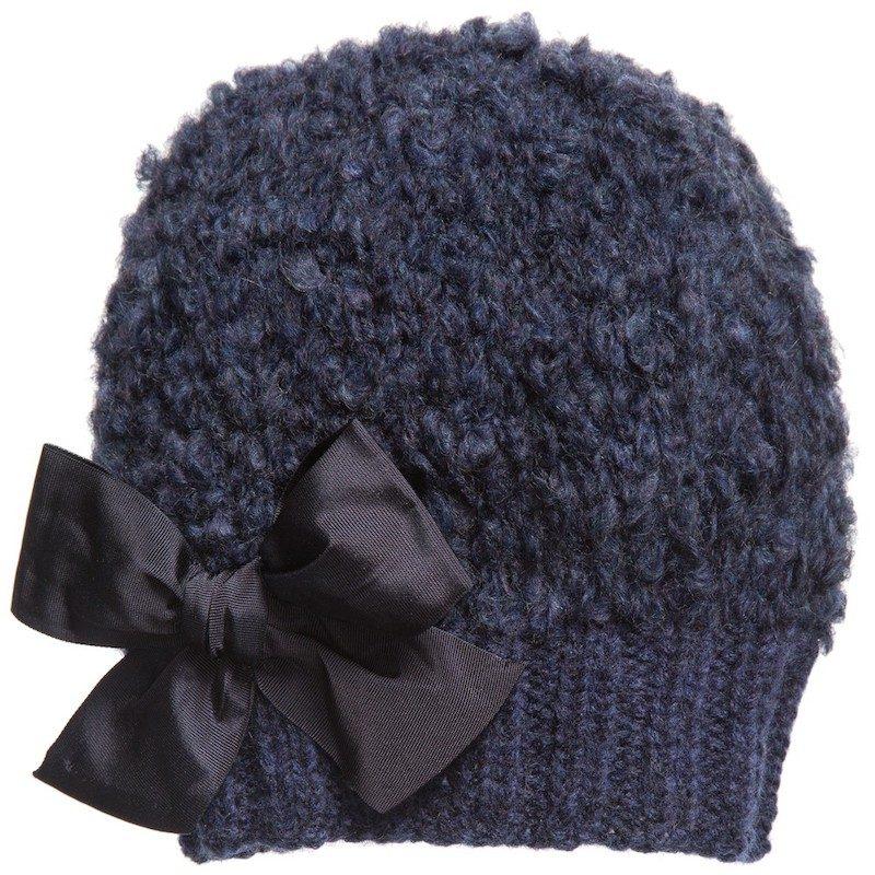 cappelli per bambini inverno 2018 fiocco blu