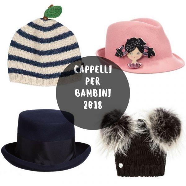 cappelli per bambini inverno 2018