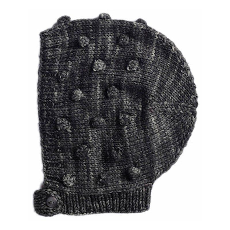 cappelli per bambini cuffia maglia pompon
