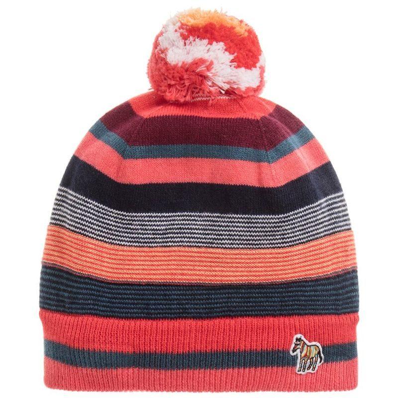cappelli per bambini inverno 2018 righe colore