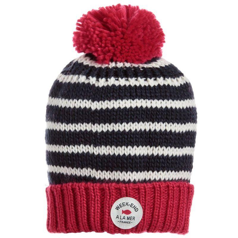 cappelli per bambini inverno 2018 righe mare
