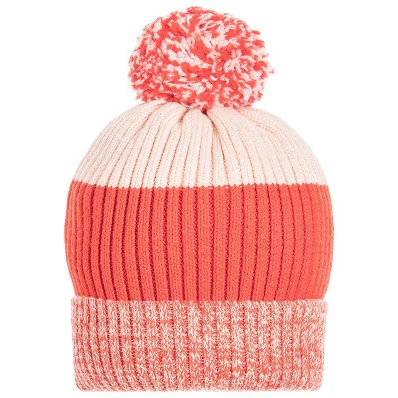 cappelli per bambini inverno 2018 arancio righe