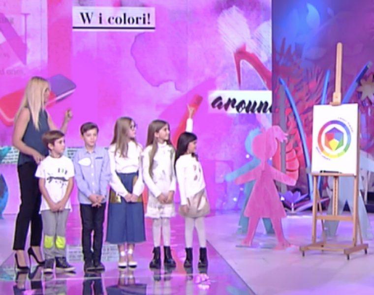 come abbinare i colori e bambini