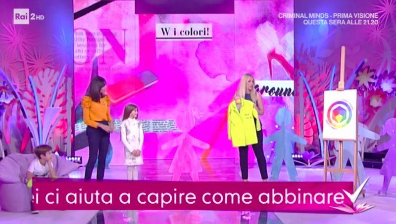 la moda bambino e i colori