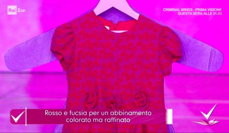 rosso e moda bambino