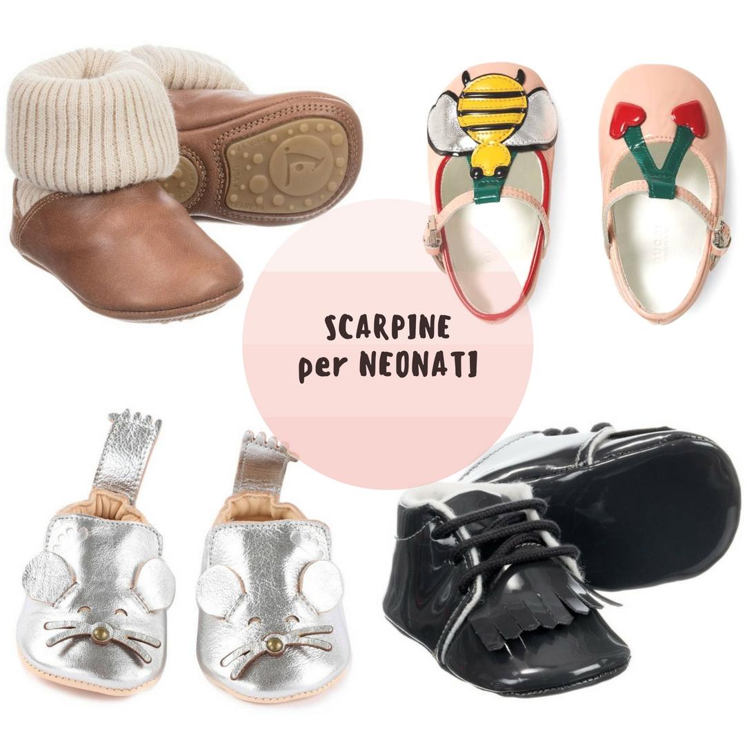 scarpe per neonati