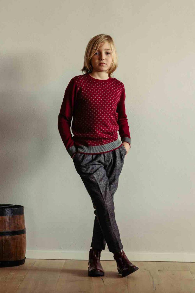 come vestire i bambini in inverno per una festa