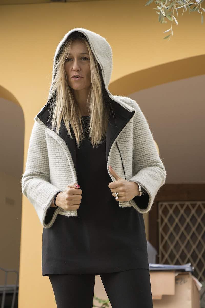 giacca di lana da Luisa Via Roma