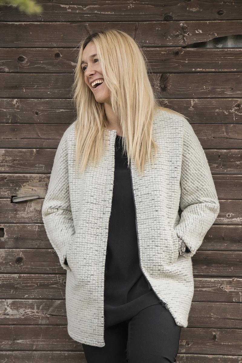 la lana e i cappotti