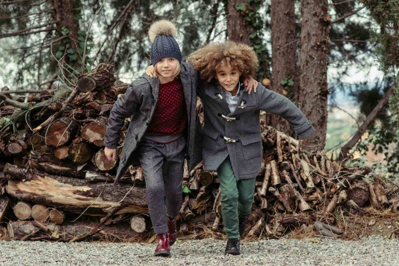 moda bambini in inverno