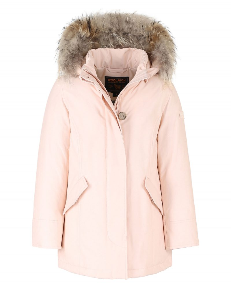 Artic parka rosa Woolrich in saldo