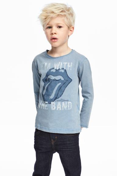 Maglietta a maniche lunghe Kiss saldi HM