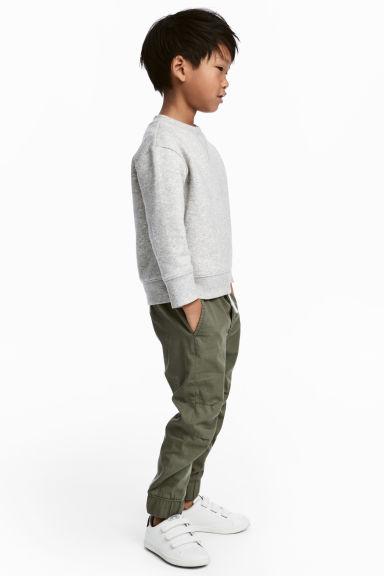 Pantaloni militari con elastico in vita saldi HM