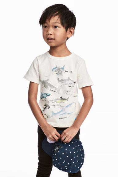 Tshirt con stampa squali saldi HM