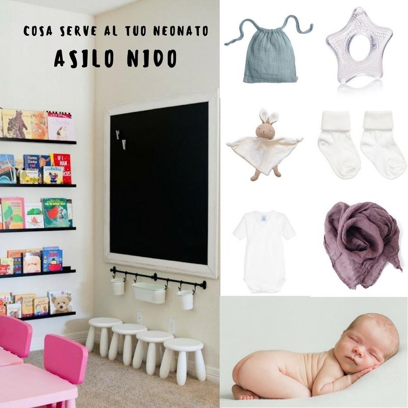 asilo nido cosa serve al tuo neonato ig