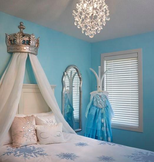 Idee per una cameretta da principessa veloci senza spendere troppo