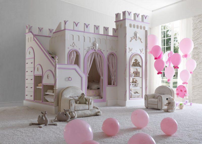 Idee per una cameretta da principessa veloci senza - Camere da principesse ...