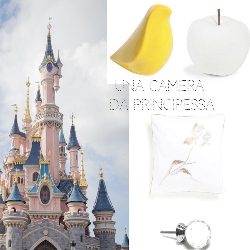 idee per una camera da principessa