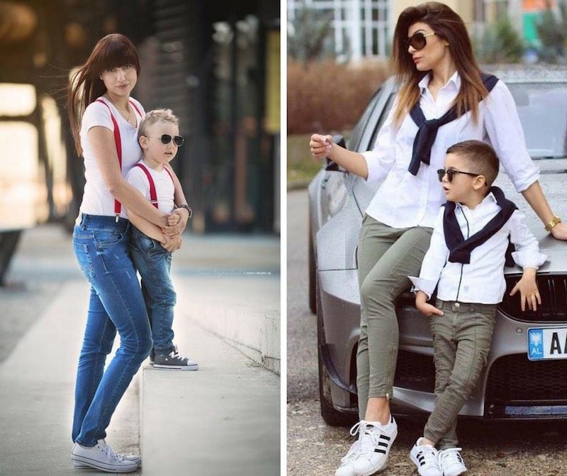 9a715980df78 MINI ME mamma figlio e come vestirsi uguali con divertimento