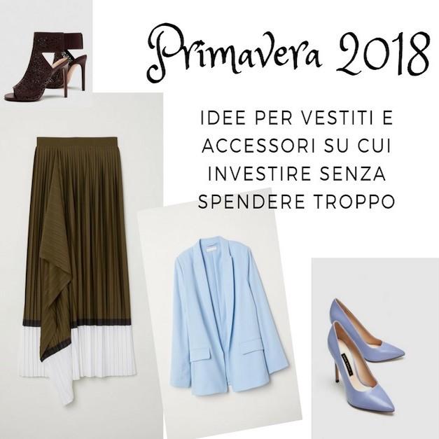 20c8dd8ab6a0 Primavera 2018  idee per vestiti e accessori sui quali investire
