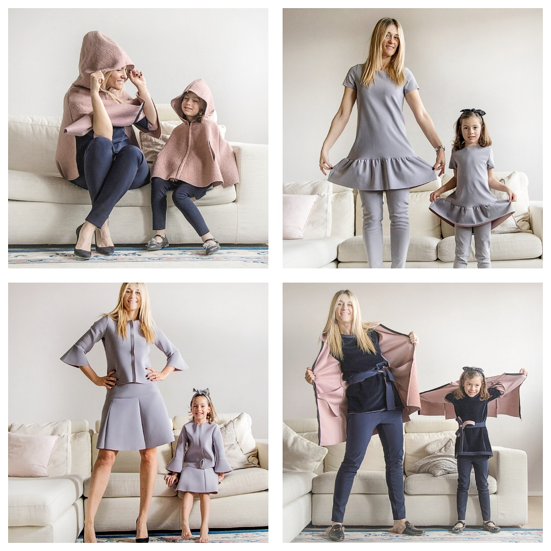 cerca il più recente ma non volgare scarpe esclusive Mamma e figlia uguali e i vestiti MINI ME che più ci piacciono