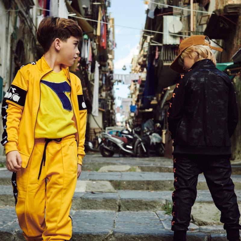 b8673c062ec3b4 Diadora bambini e lo stile sportivo per essere alla moda