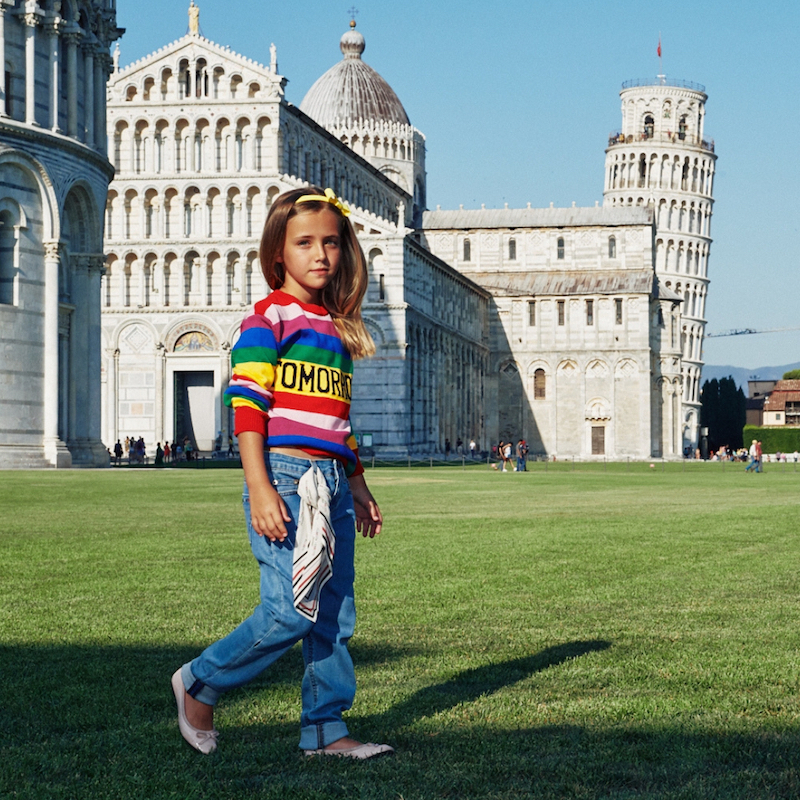 best website ff1ab 881be Alberta Ferretti Junior e la moda bambina dei colori