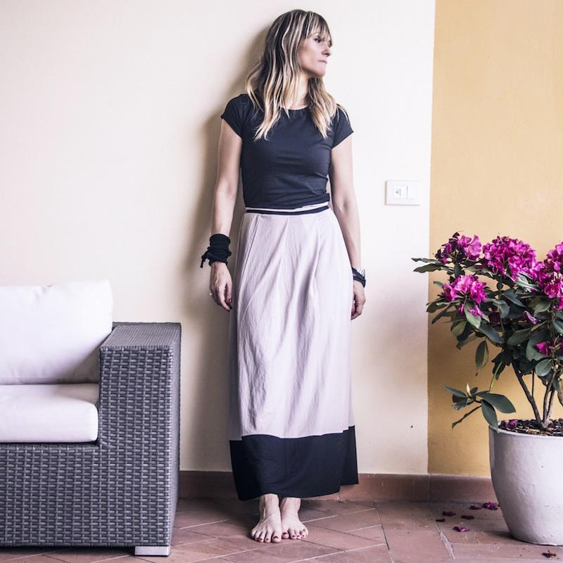 pretty nice 949d6 563e9 come indossare la gonna lunga Archivi - Fiammisday Blog Come ...