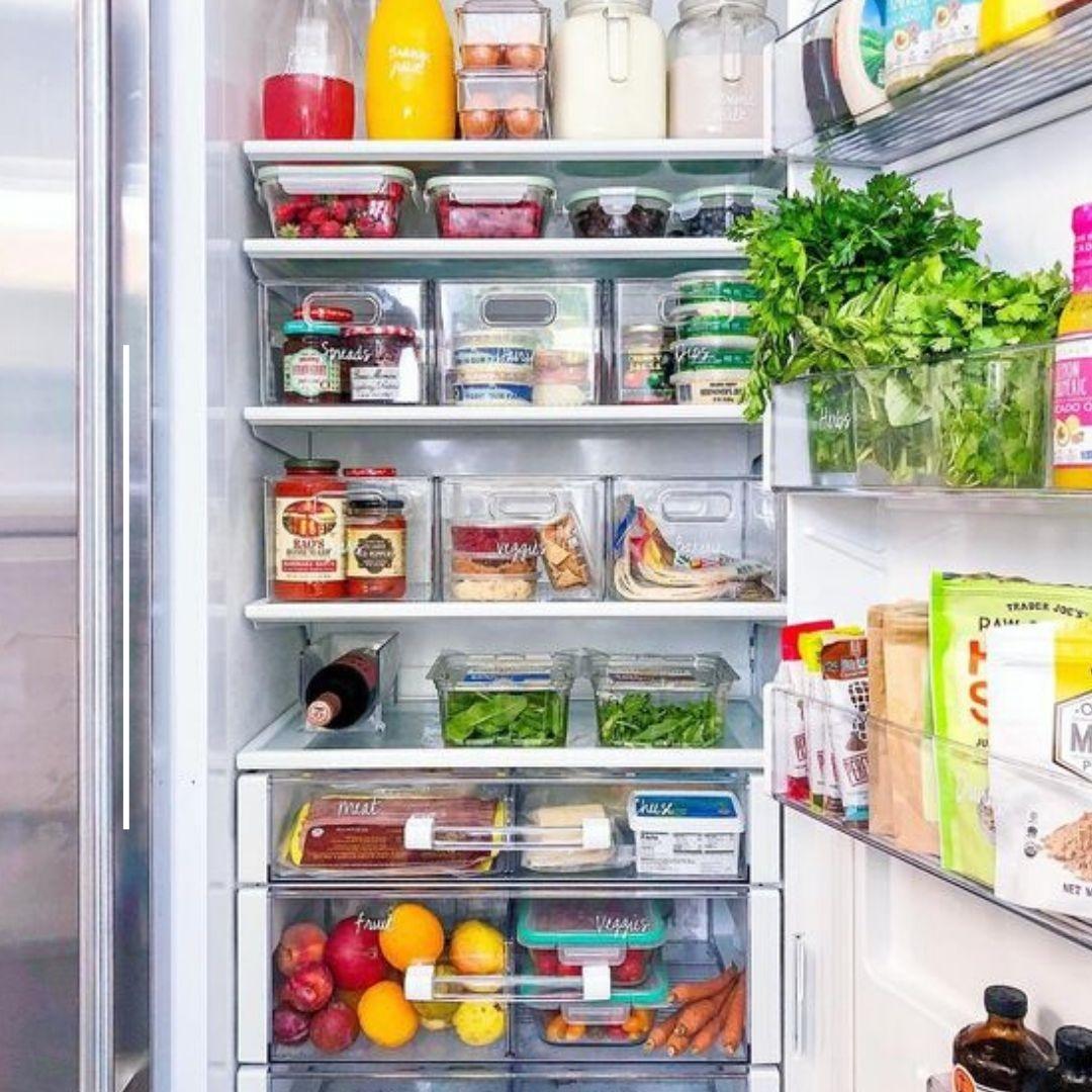 Contenitori Per Organizzare Frigo come igienizzare il frigorifero per evitare contaminazioni