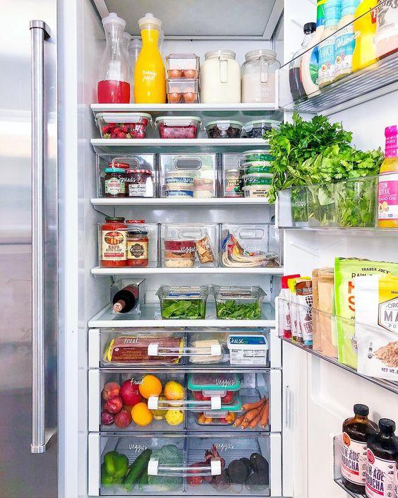 risparmiare sulla spesa alimentare il frigorifero